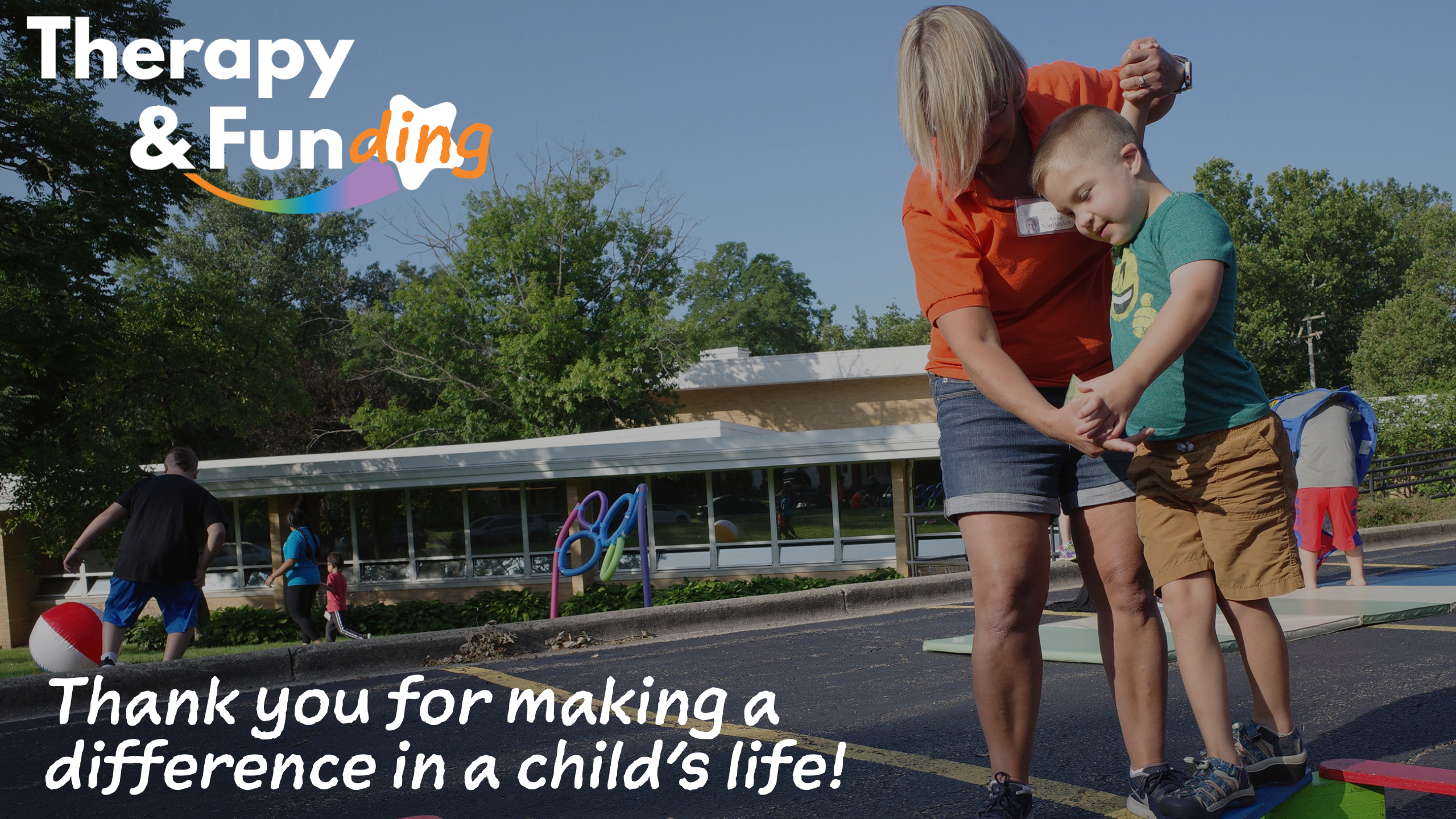 Thank you for making a difference in a child's life!